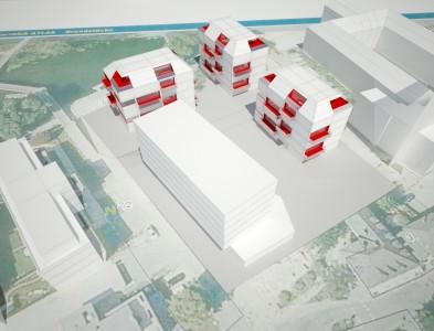 Projektentwicklung – Studie Hotel und Wohnbau